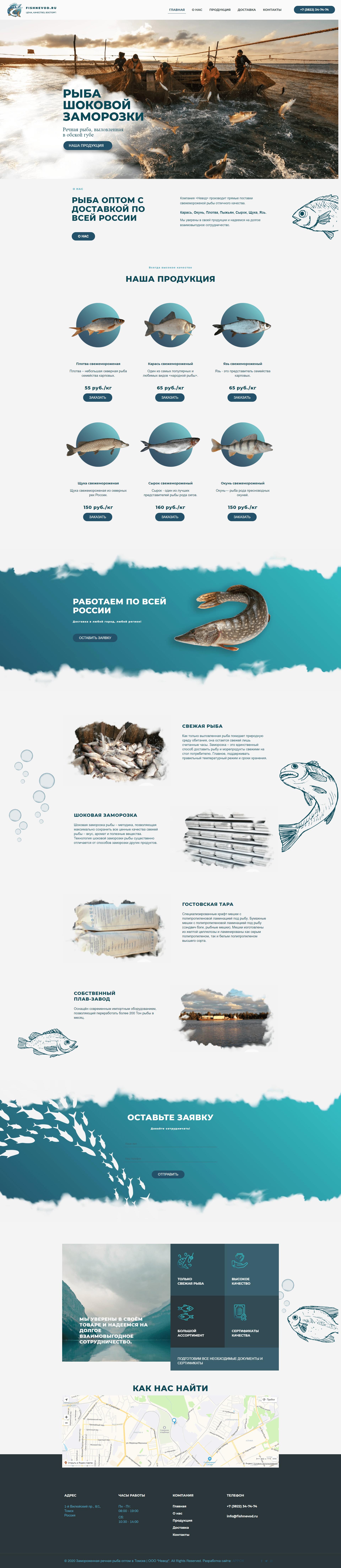 Fishnevod.ru All